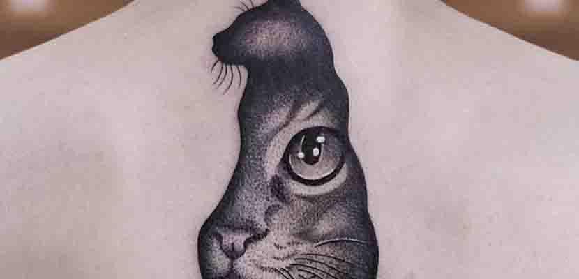 Tatuajes de gatos negros