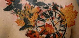 Tatuaje de otoño