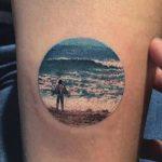 Tatuajes pequeños de paisajes