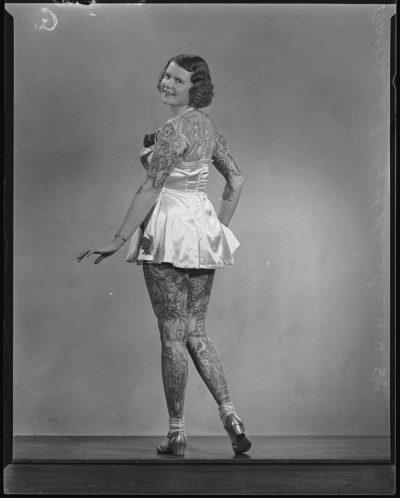 Betty Broadbent espalda