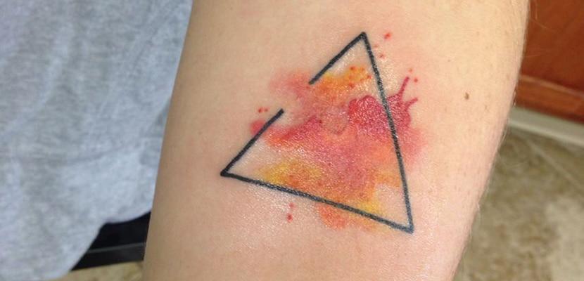 Tatuaje con fuego