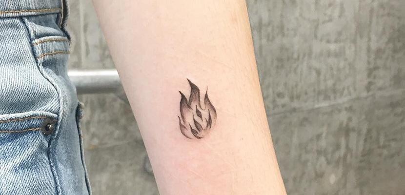 Tatuaje minimal