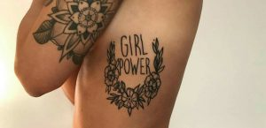 Tatuaje Girl Power