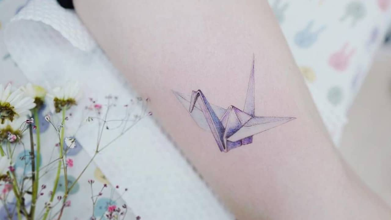 Tatuajes de grullas