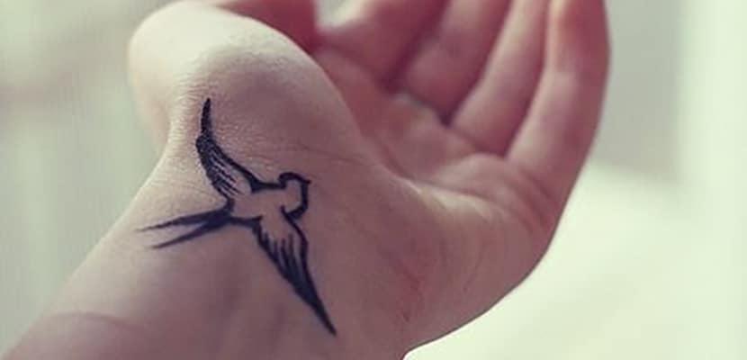 Tatuaje de golondrina