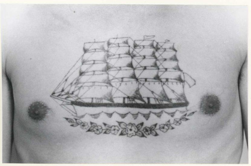 Tatuajes de Barco vintage