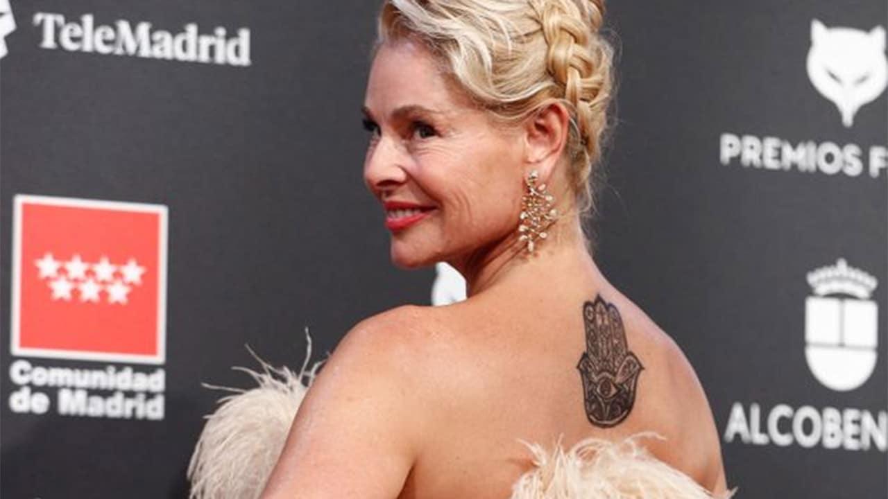 Tatuaje de Belen Rueda