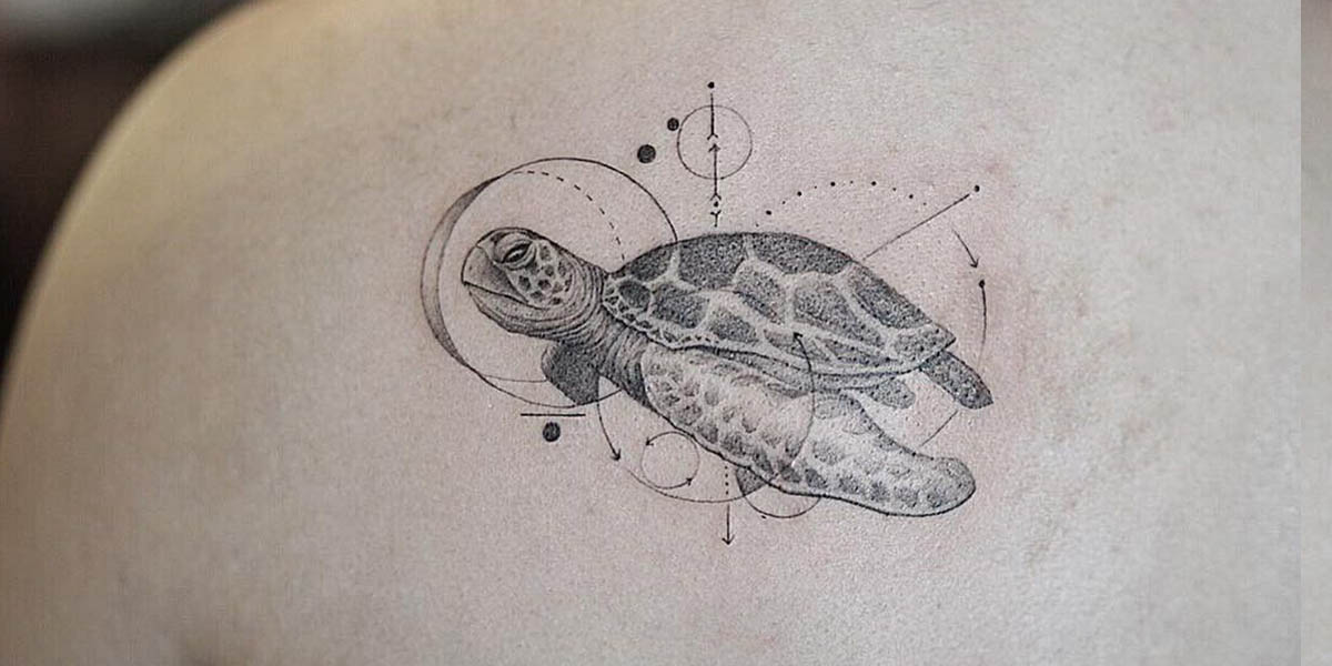 Tatuaje de tortuga