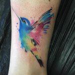 Tatuajes de colibrís