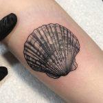 Tatuajes de conchas de mar