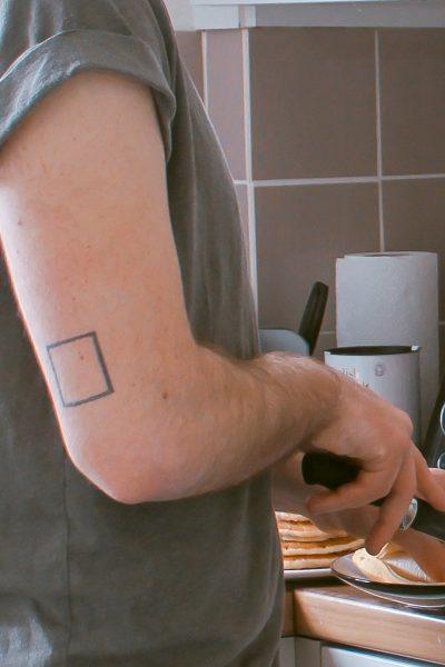 Tatuajes de Cubos cuadrado
