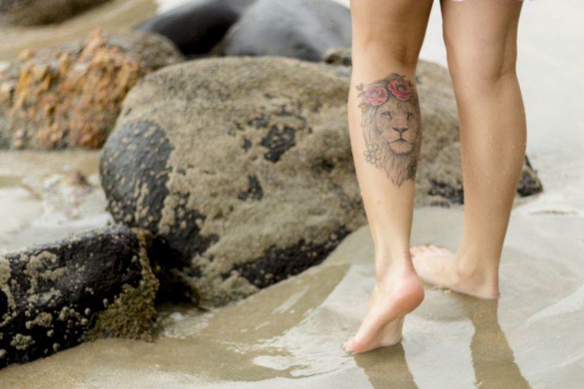 Tatuajes de León de Judá