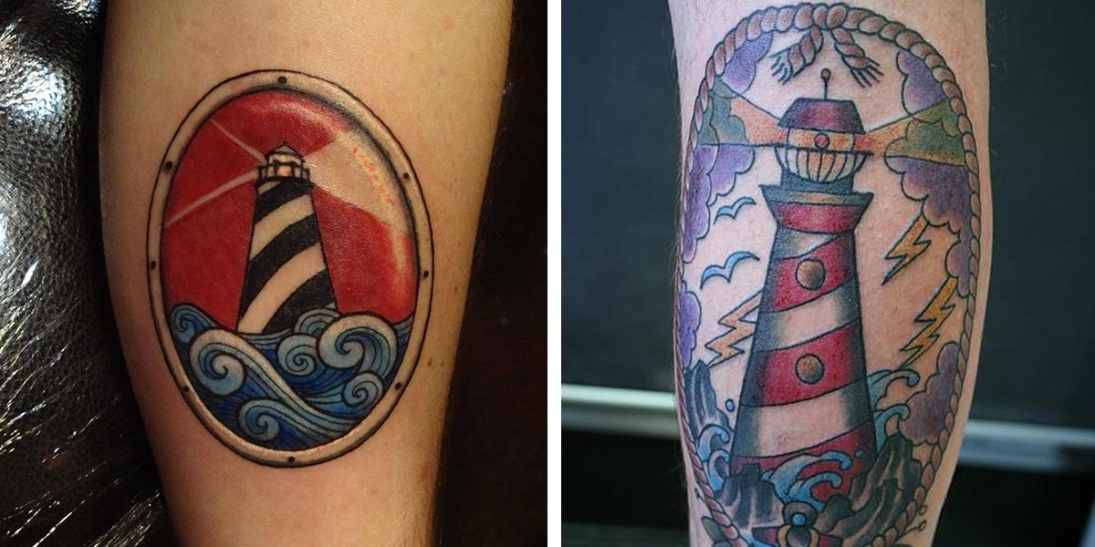 Tatuaje de faros