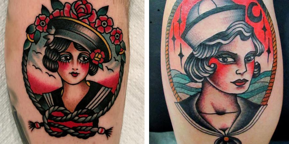 Tatuaje de marineros