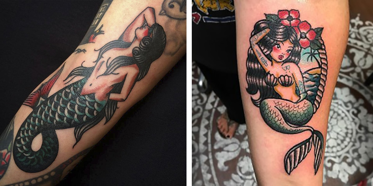 Tatuaje de sirenas