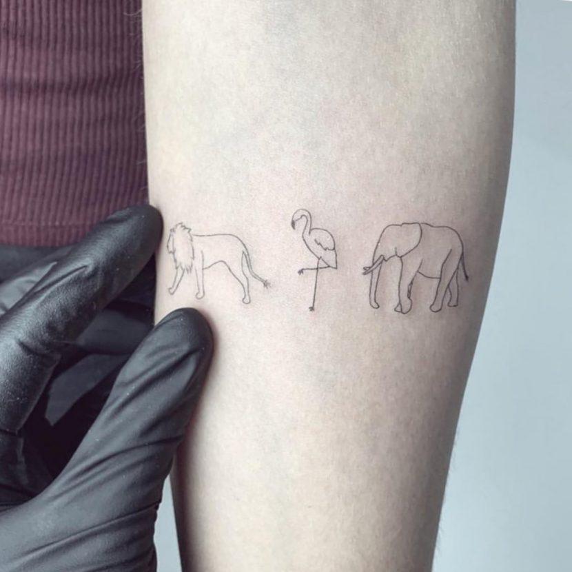 Tatuajes de Animales Pequeños Brazo