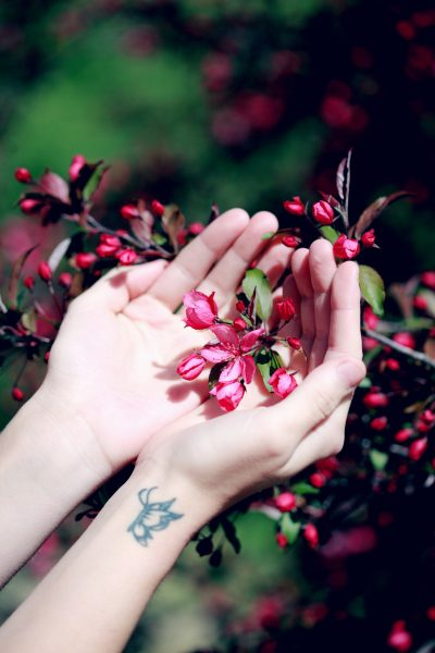 Tatuajes con Mariposa Flores