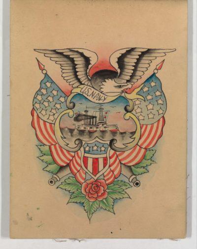 Tatuajes de América águila