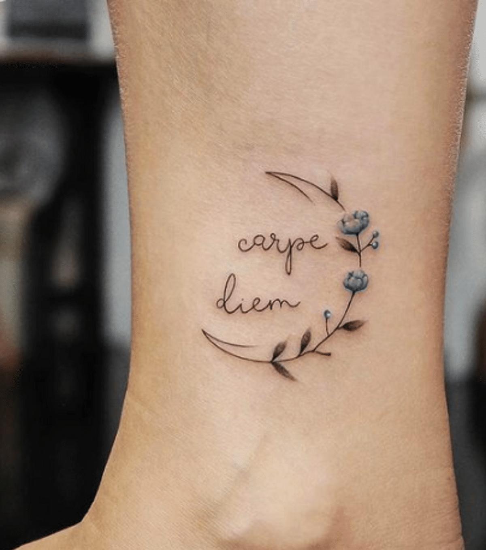 tatuaje carpe diem