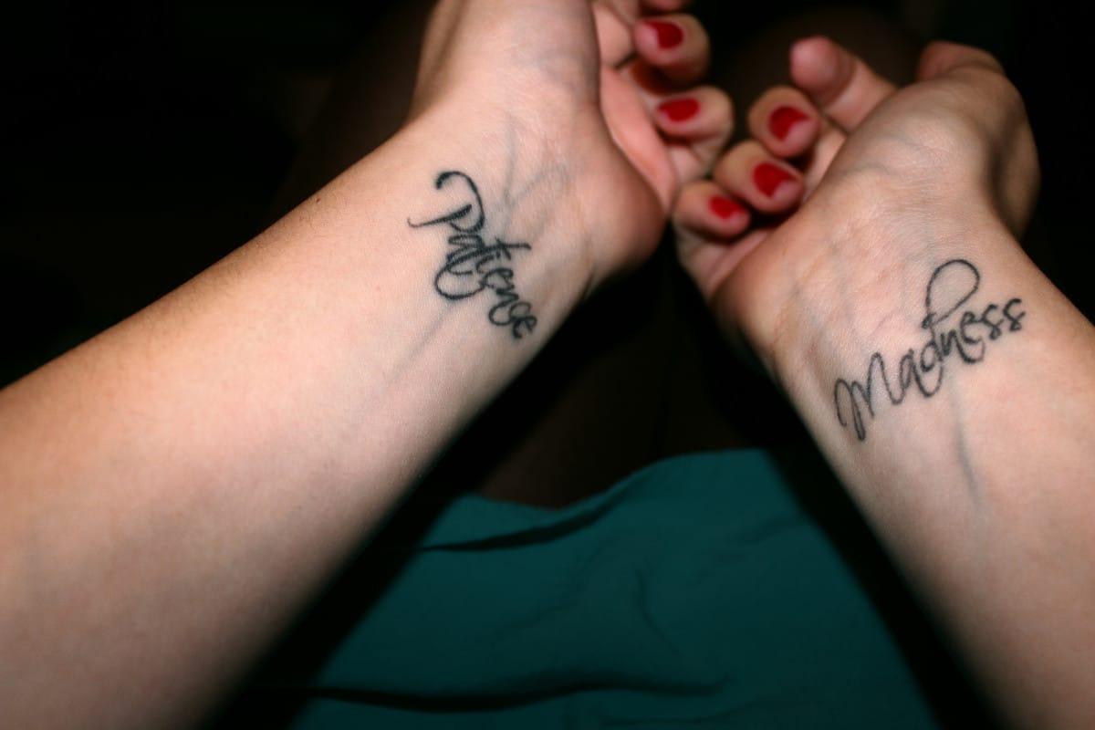 Tatuajes de Palabra