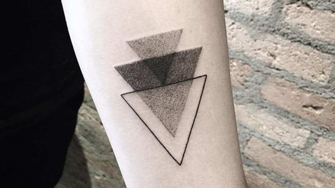 Tatuajes geométricos sencillos