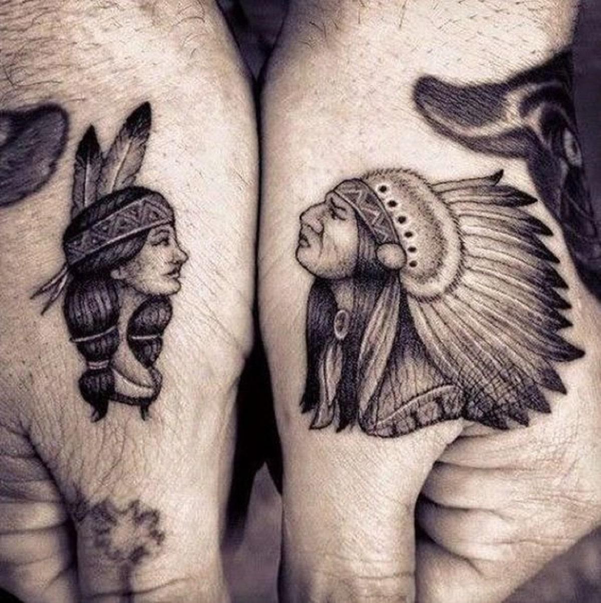 tatuajes indios familia