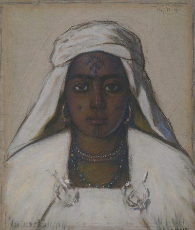 Tatuaje en la Barbilla Beduina