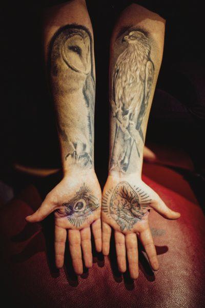 Tatuajes con Pájaros Brazo