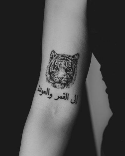 Tatuajes de Animales y Frases Tigre