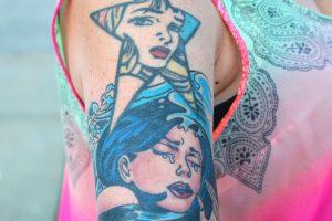 Tatuajes de Cómic