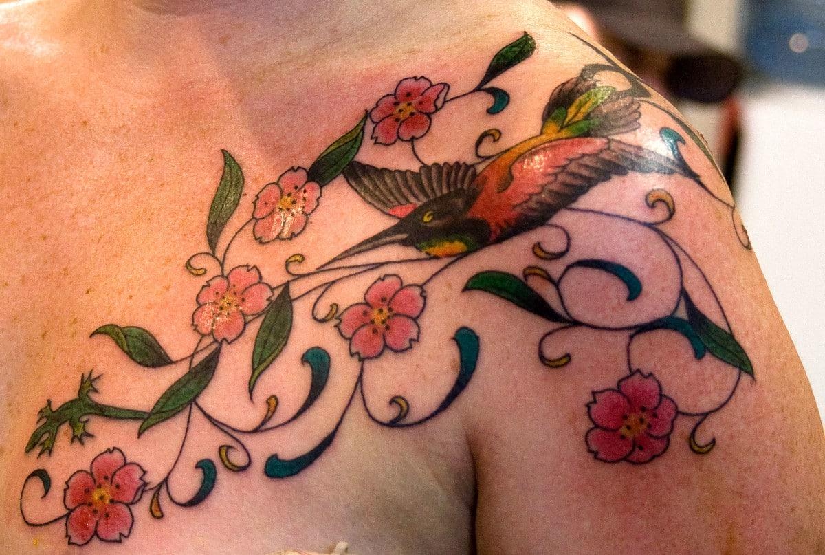 Tatuajes de Flores de Cerezo