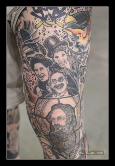 Tatuajes de Película Marx