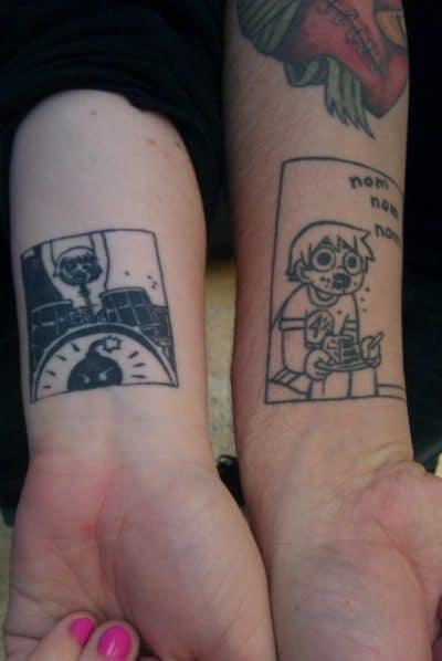 Tatuajes de Película Pilgrim