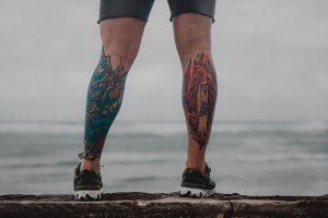 Tatuajes en Toda la Pierna