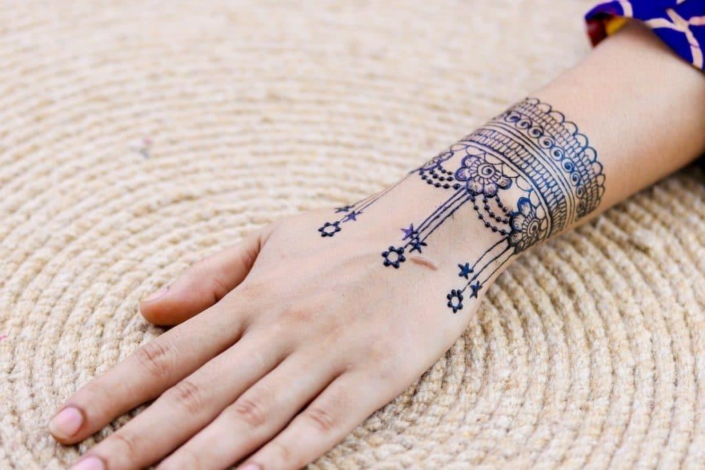 Tatuajes Estrellas Pequeñas Henna