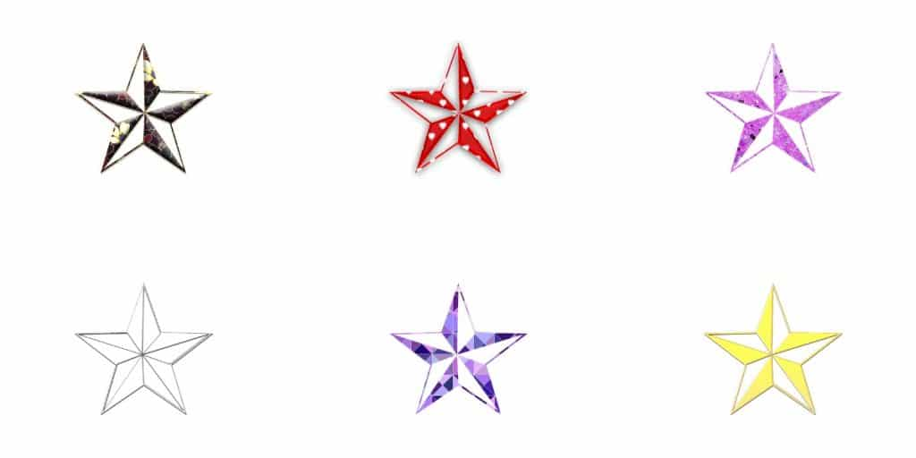 Tatuajes Estrellas Pequeñas Náuticas