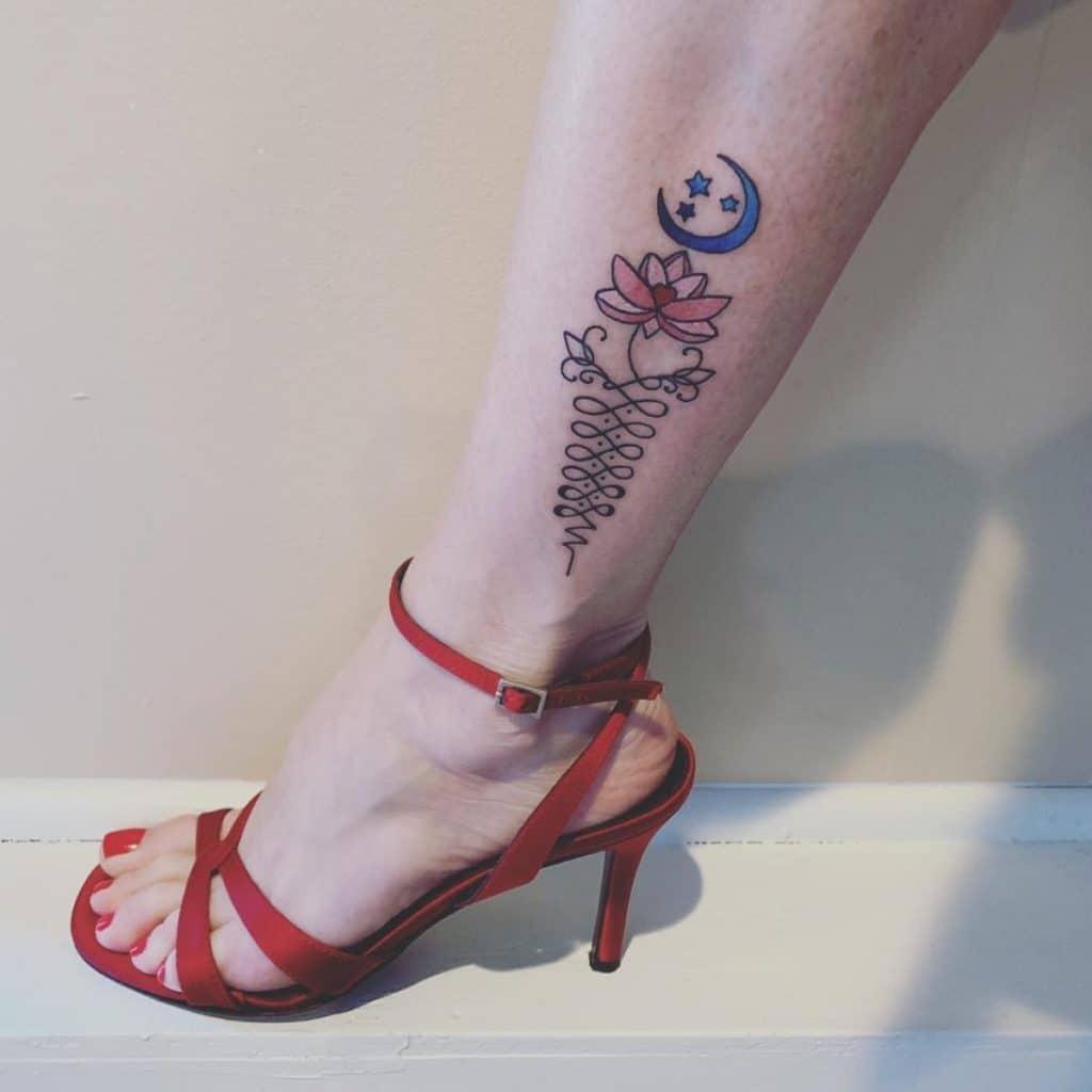 Tatuajes Estrellas Pequeñas Unalome