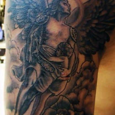 Tatuajes San Miguel Arcángel Cielo