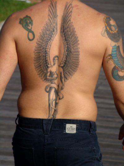 Tatuajes San Miguel Arcángel Espalda