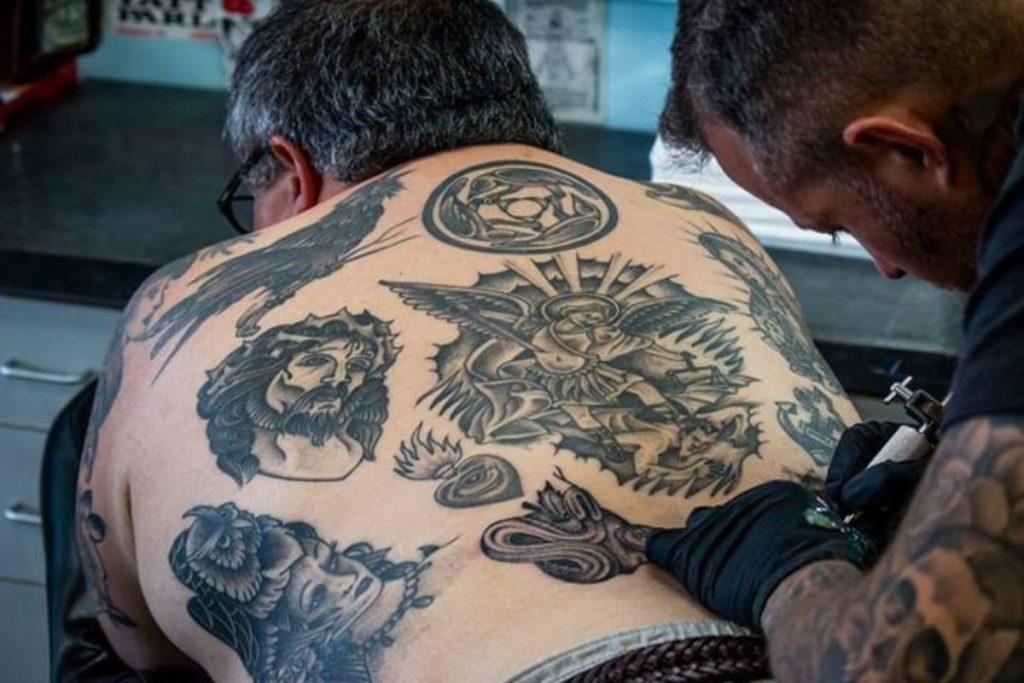 Tatuajes San Miguel Arcángel Grande
