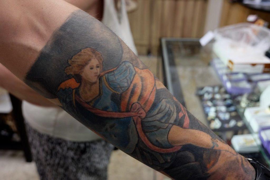 Tatuajes San Miguel Arcángel Pintura