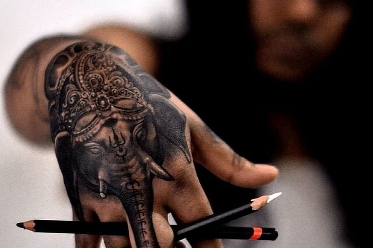 tatuaje de elefante