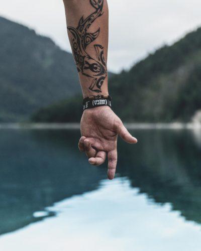 Tatuaje con Animales Tribal
