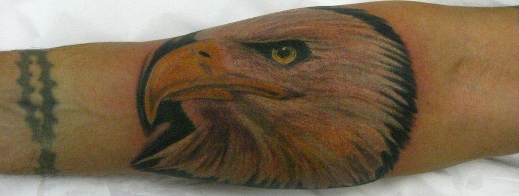 Tatuaje de Águilas Calva
