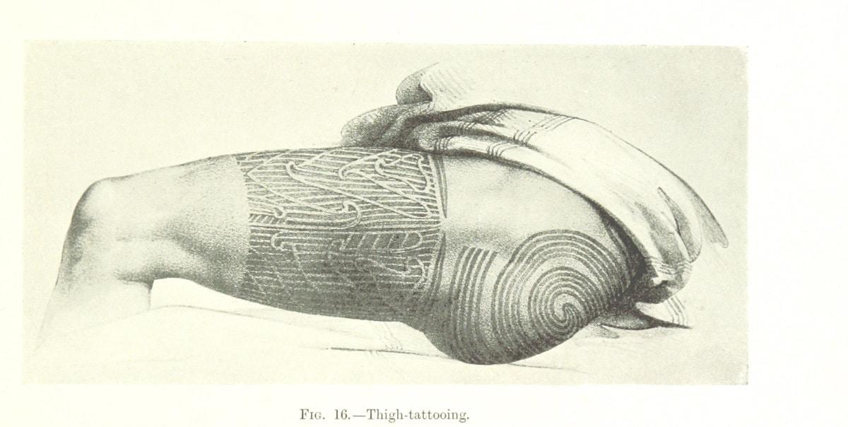 Tatuaje en los Muslos