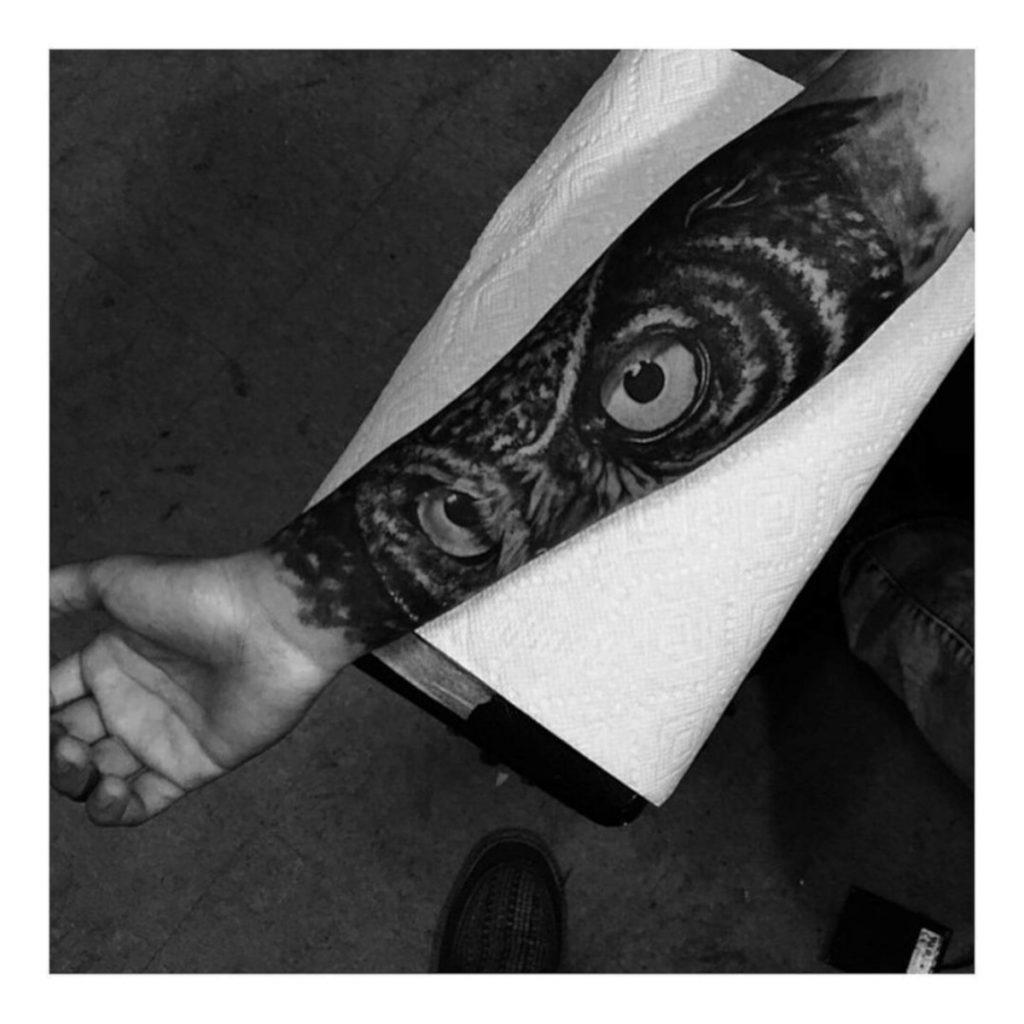Tatuajes con Búho Ojos