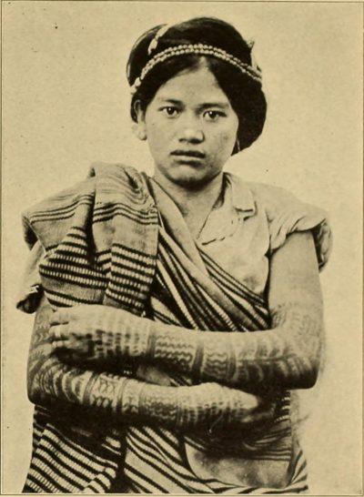 Tatuajes de Filipinas Igorote