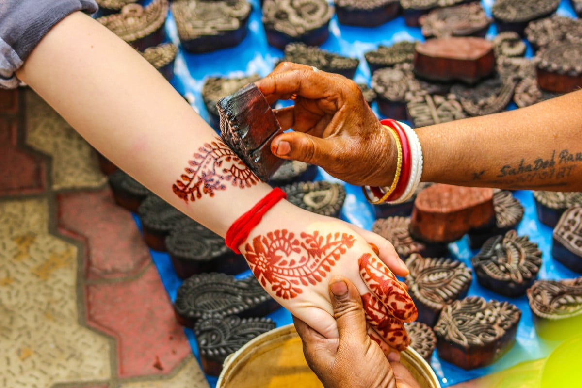 Tatuajes de Henna Pequeños
