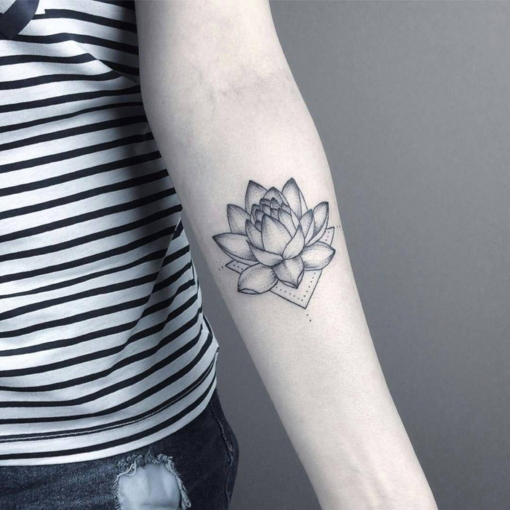 Tatuajes de Loto Blanco