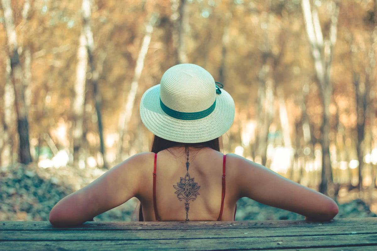 Tatuajes de Mandala en la Espalda